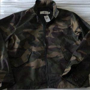 Coach men's camo jacket, new w/ tags, size L